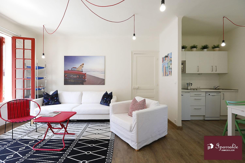 A dos pasos del Mar, espectacular piso de diseño con gran Terraza en Hendaya (64)