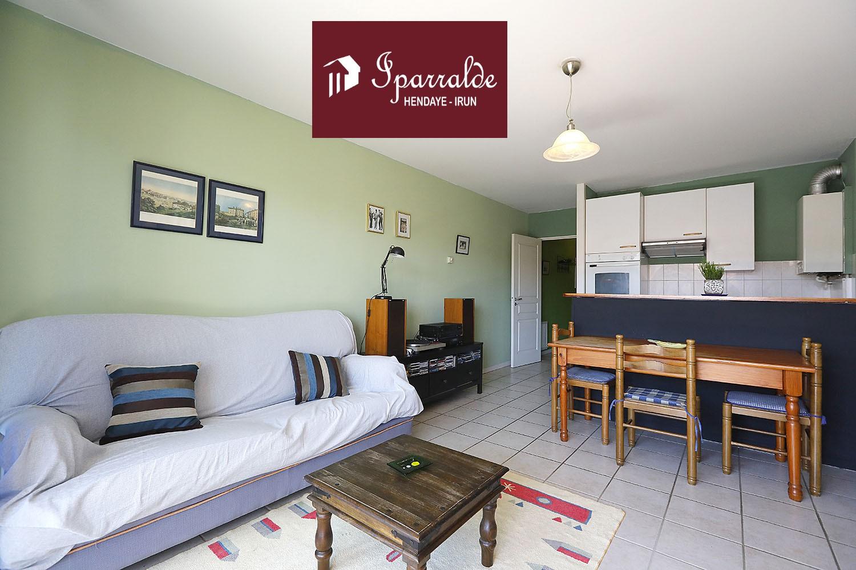 Preciosa vivienda T2 con preciosa y soleada Terraza en Hendaye (64)