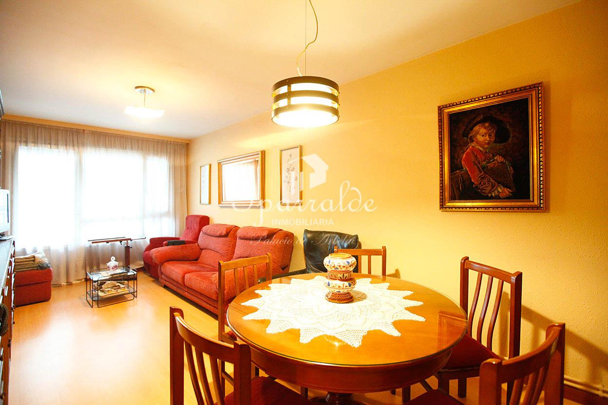 Bonito piso de dos habitaciones en zona céntrica  y tranquila de Irún. Impecable, para entrar a vivir. Ascensor a cota cero