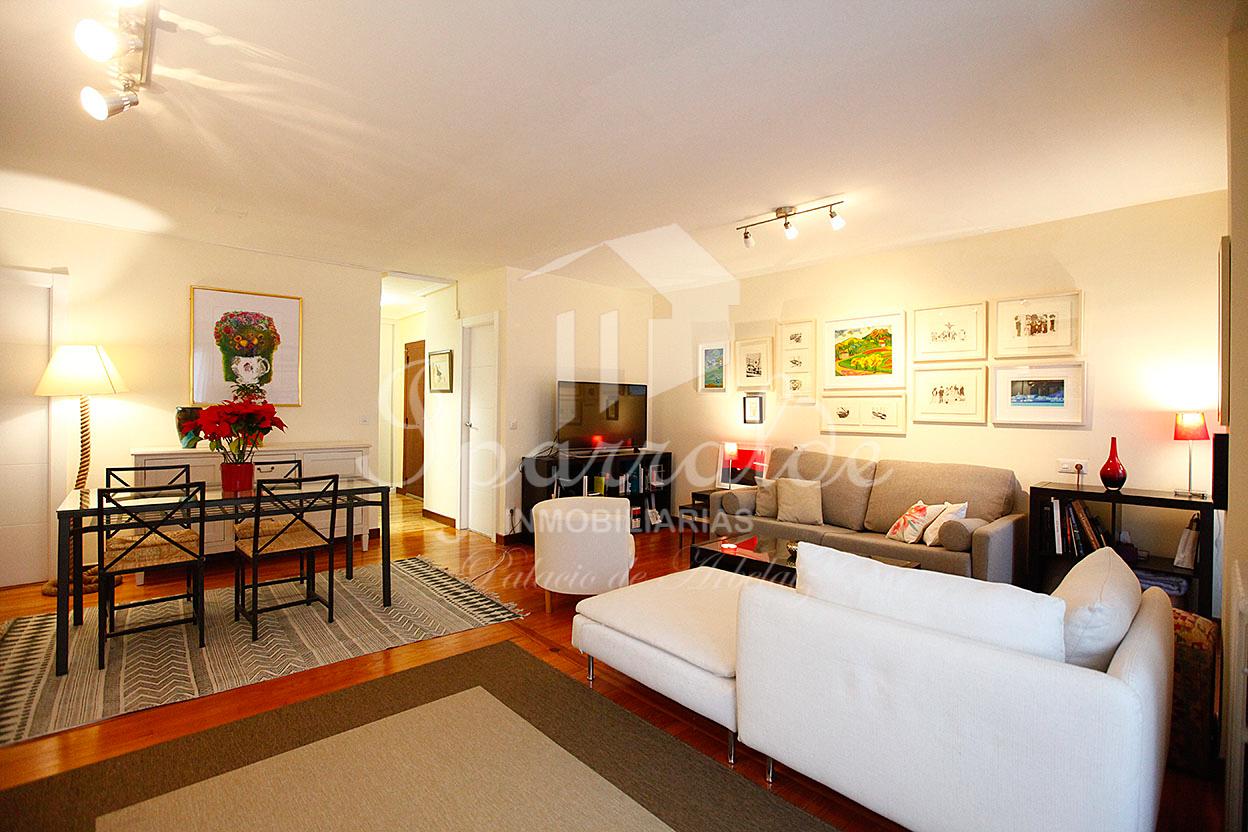Preciosa vivienda de 85 m2 en la Avenida de Salis de Irun, con hermoso salón de 25 m2. Posibilidad de garaje